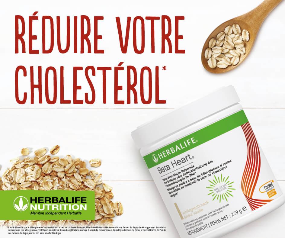 Ce produit, consommé régulièrement, contribue au maintien d'une cholestérolémie normale, accompagnée d'une nutrition saine et équilibrée