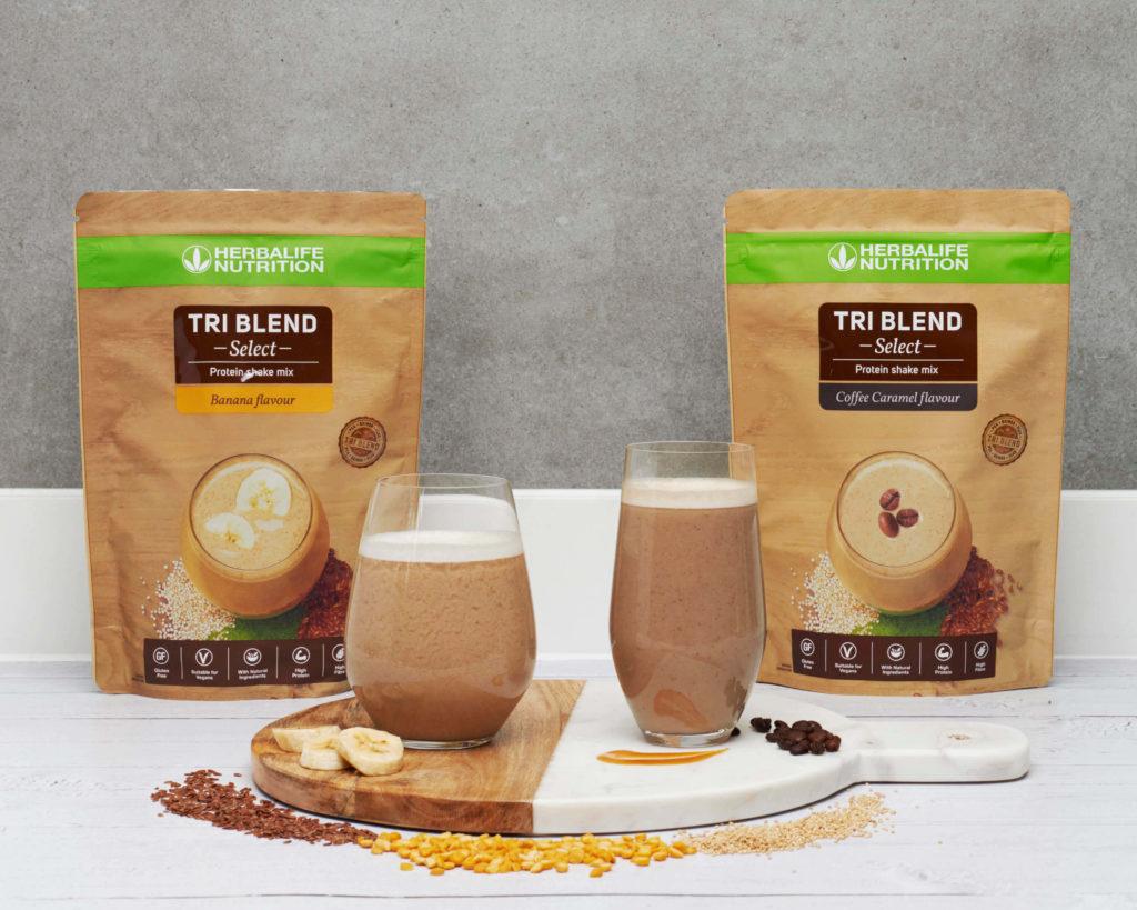 Tri Blend Select est un mélange pour shake protéiné délicieusement crémeux avec une faible teneur en sucres. Il vous offre une nutrition de source naturelle et un goût savoureux pour équilibré notre nutrition